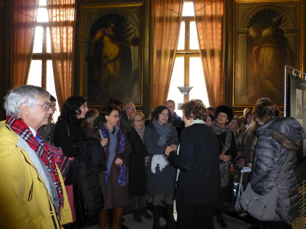 Visita guidata dalla curatrice Anna Maria Samuelli