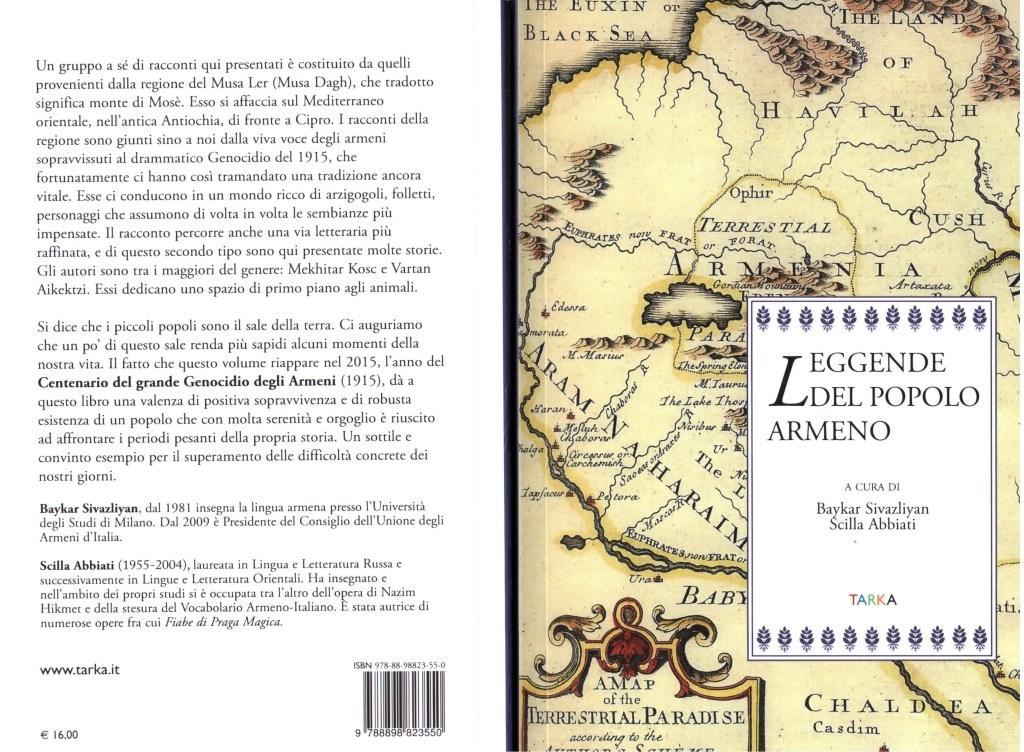 Libro Leggende Popolo Armeno