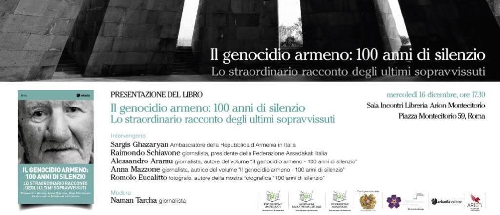 Presentazione_ Il genocidio armeno_100 anni di silenzio