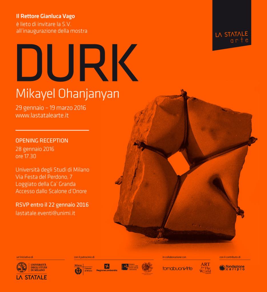 DURK M.O. Milano 2016